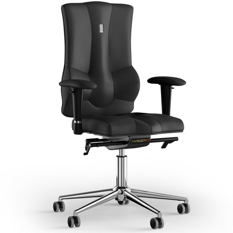 Кресло KULIK SYSTEM ELEGANCE Экокожа без подголовника без строчки
