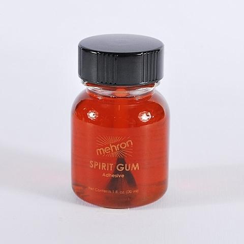 MEHRON Сандарачный клей Spirit Gum with Brush, 10 мл на розлив