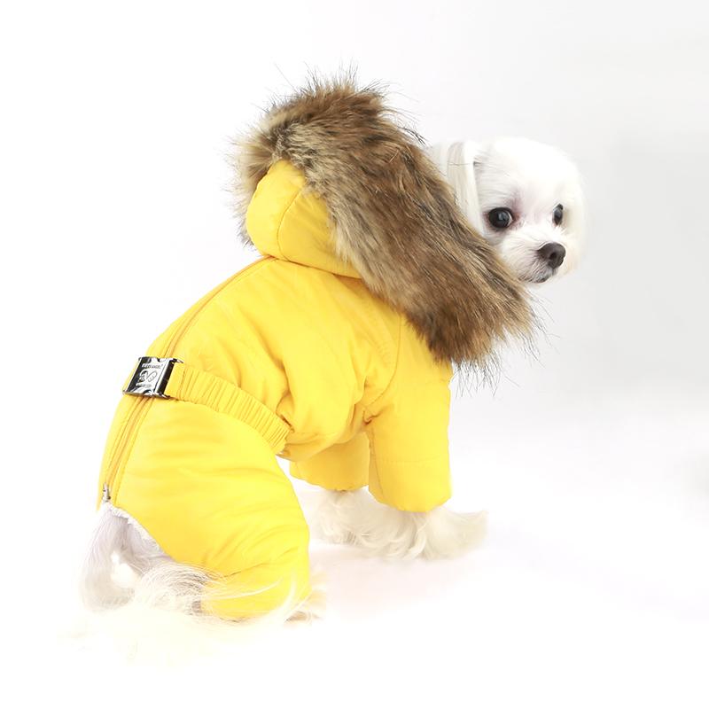 382 PA - Комбинезон-пуховик для собак