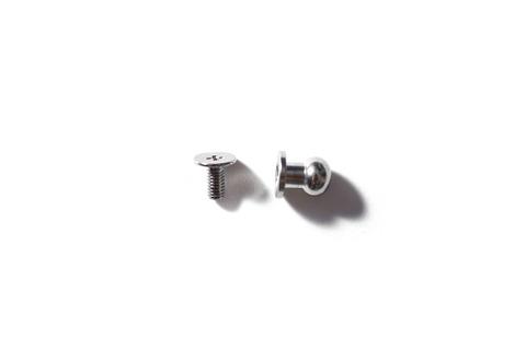 Кобурная кнопка 6x8 - хром