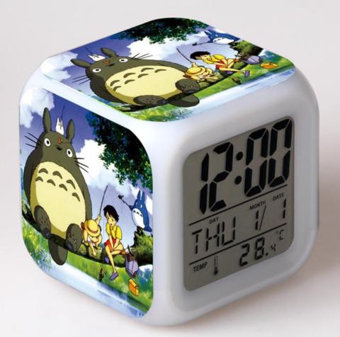 Будильник Led Totoro