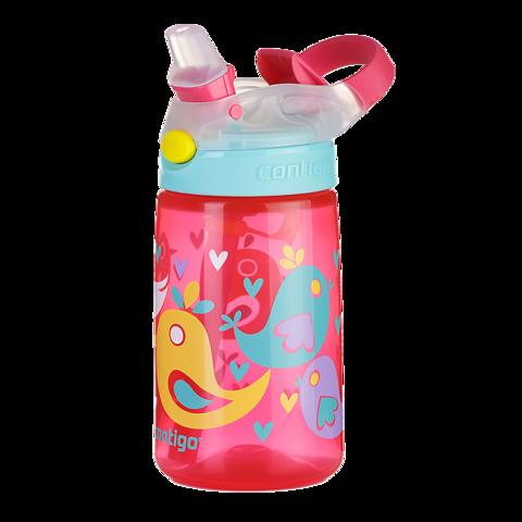 Бутылочка детская Contigo Gizmo Flip (0,42 литра), розовая