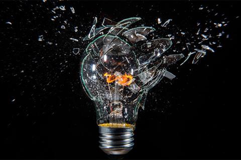 Взрыв лампочки силой мысли