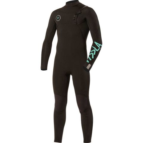VISSLA 7 Seas 3/2 Boys Chest Zip Full Suit