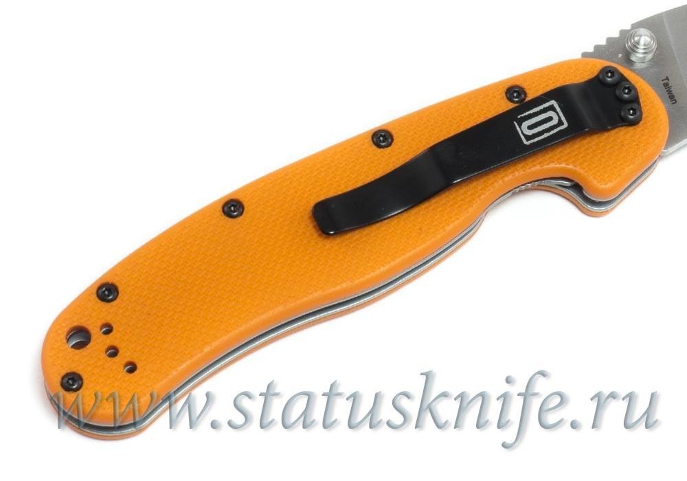 Нож Ontario RAT Model 1A Assisted 8870OR оранжевый - фотография