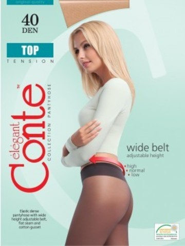 Conte Top Колготки женские 40d, p.2 nero