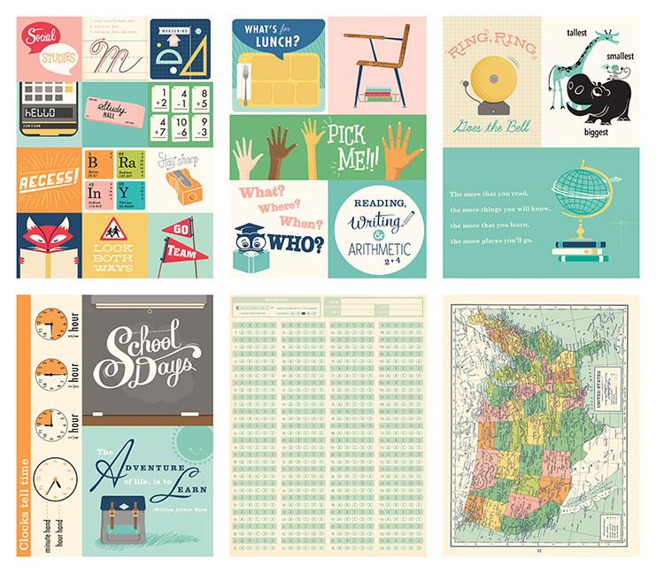 Набор карточек для Project Life от October Afternoon