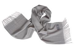 Шерстяной шарф серый 00303