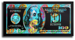 """Постер """"Доллар люмен"""""""
