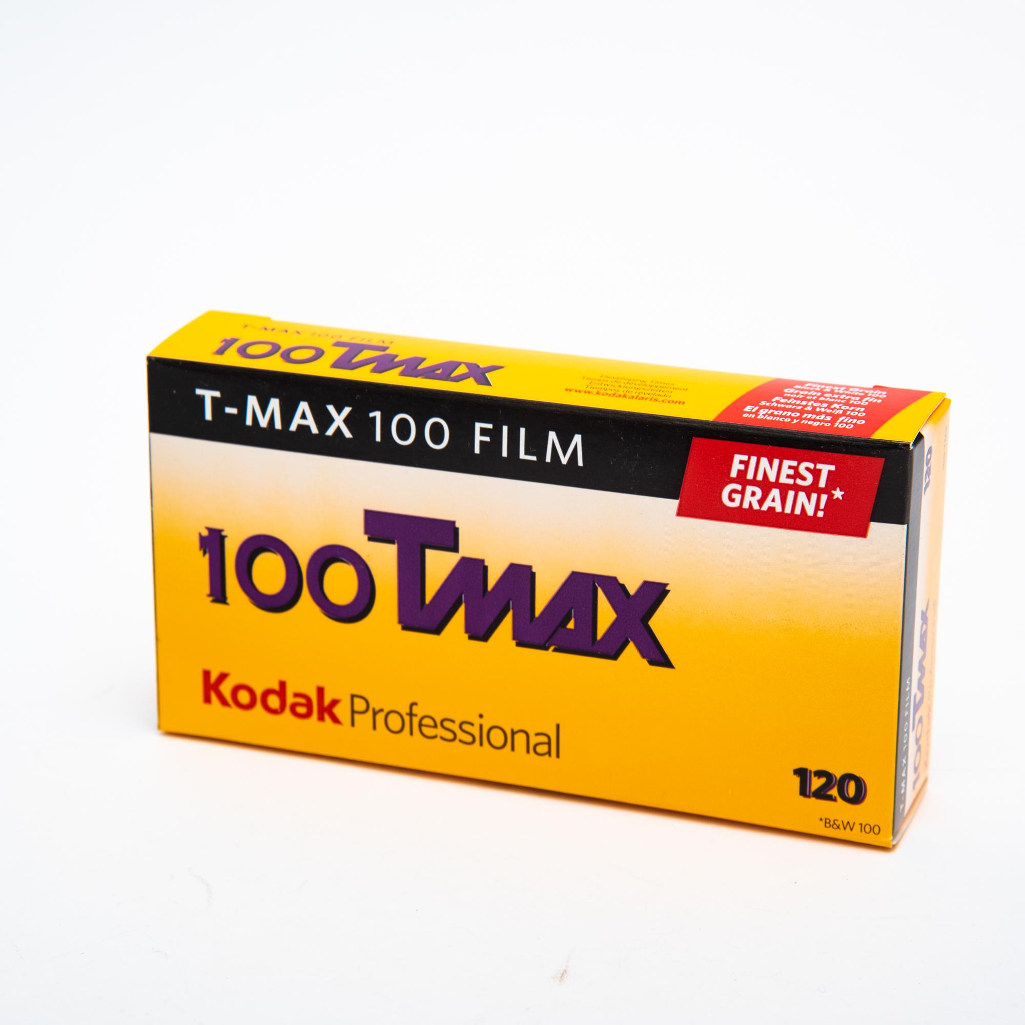 Фотопленка Kodak T-MAX 100/120 B&W
