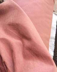 Вельвет с эластаном теплый розовый, хлопок