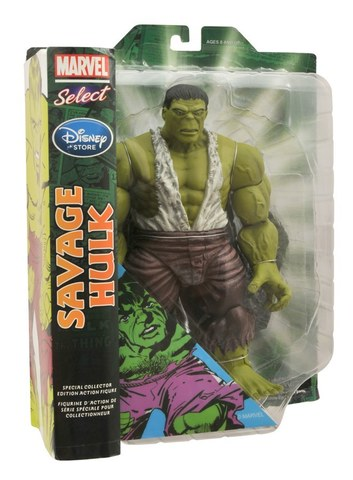 Марвел Селект фигурка Халк Дикарь — Marvel Select Savage Hulk Exclusive