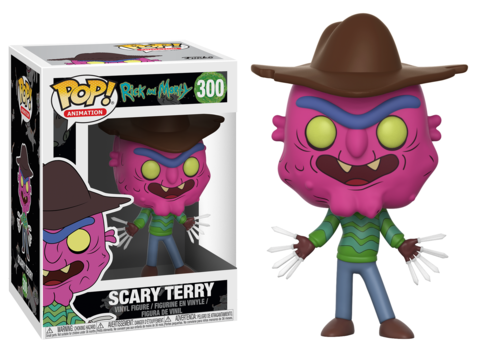Фигурка Funko POP! Vinyl: Rick & Morty: Scary Terry 12599