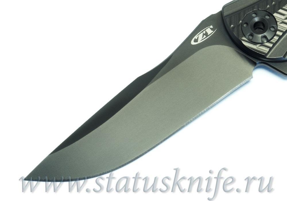 Нож Zero Tolerance 0609Blk RJ Martin ZT0609Blk - фотография