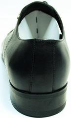 Стильные туфли мужские Икос 2235-1 black.