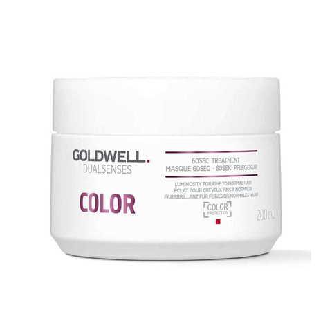 Маска для окрашенных волос 60 сек. Goldwell Dualsenses Color 60 sec 200 мл