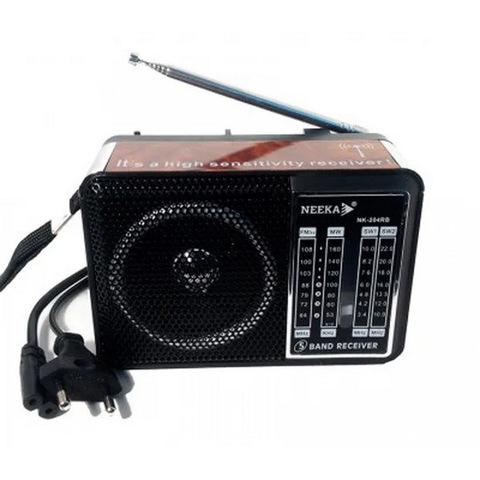 Радио NEEKA 204RB (встроенный аккумулятор)