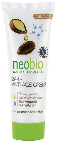 Neobio 24 часа разглаживающий крем для лица