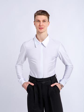 Рубашка-боди белая для танцев
