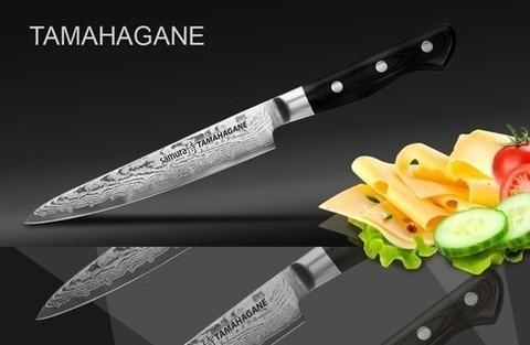 Кухонный универсальный нож SAMURA TAMAHAGANE, арт. ST-0023/G-10