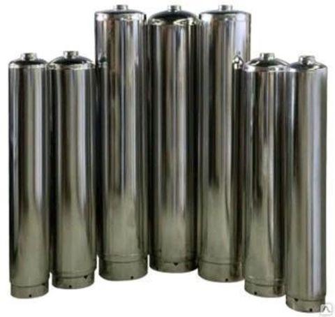 SS304-2460 Aquapro Нерж. корпус D61xH152, толщина стенки 2мм