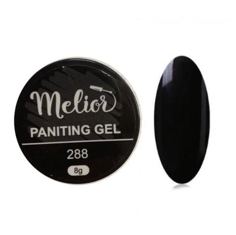 Гель-краска Melior 288 (чёрная)