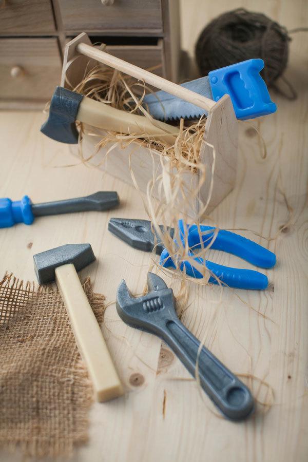 Ящик для мыла ручной работы деревянный с ручкой