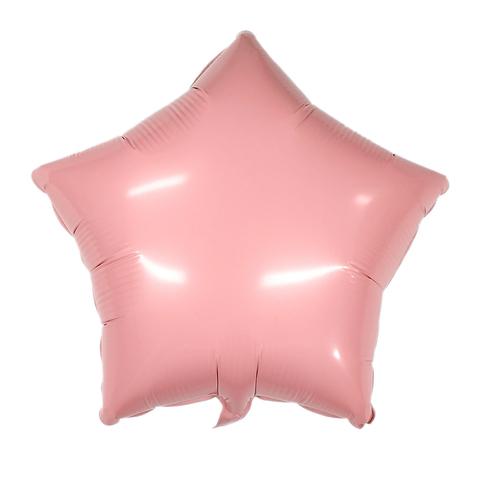 Звезда Матовая розовая (Макарунс)