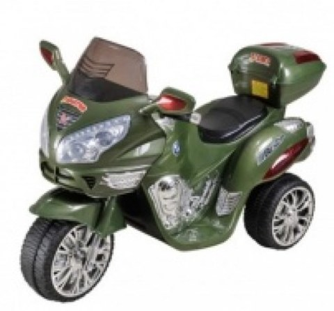 Электромотоцикл Rivertoys Moto HJ 9888 зеленый