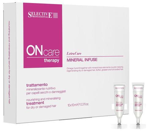 Питательная сыворотка с минералами для сухих, поврежденных волос, Selective Oncare Hydrate , 10шт.х 10мл
