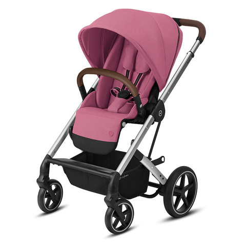 Прогулочная коляска Cybex Balios S Lux SLV Magnolia Pink
