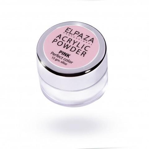 Акриловая пудра ELPAZAA 15g, розовая