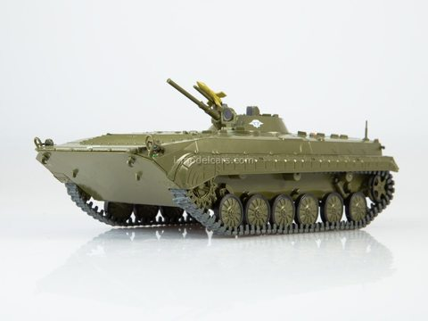 Armored personnel carrier BMP-1 Our Tanks #24 MODIMIO Collections