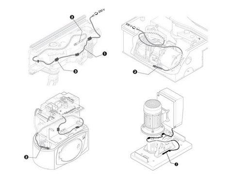 PSRT02 Кабель нагревательный со встроенным термостатом Came