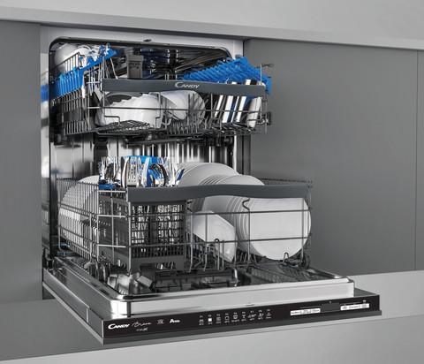 Посудомоечная машина Candy Brava CDIN 1D672PB-07