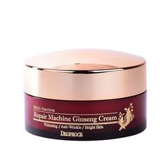 Deoproce Repair Machine Ginsening Cream - Крем для лица антивозрастной с женьшенем