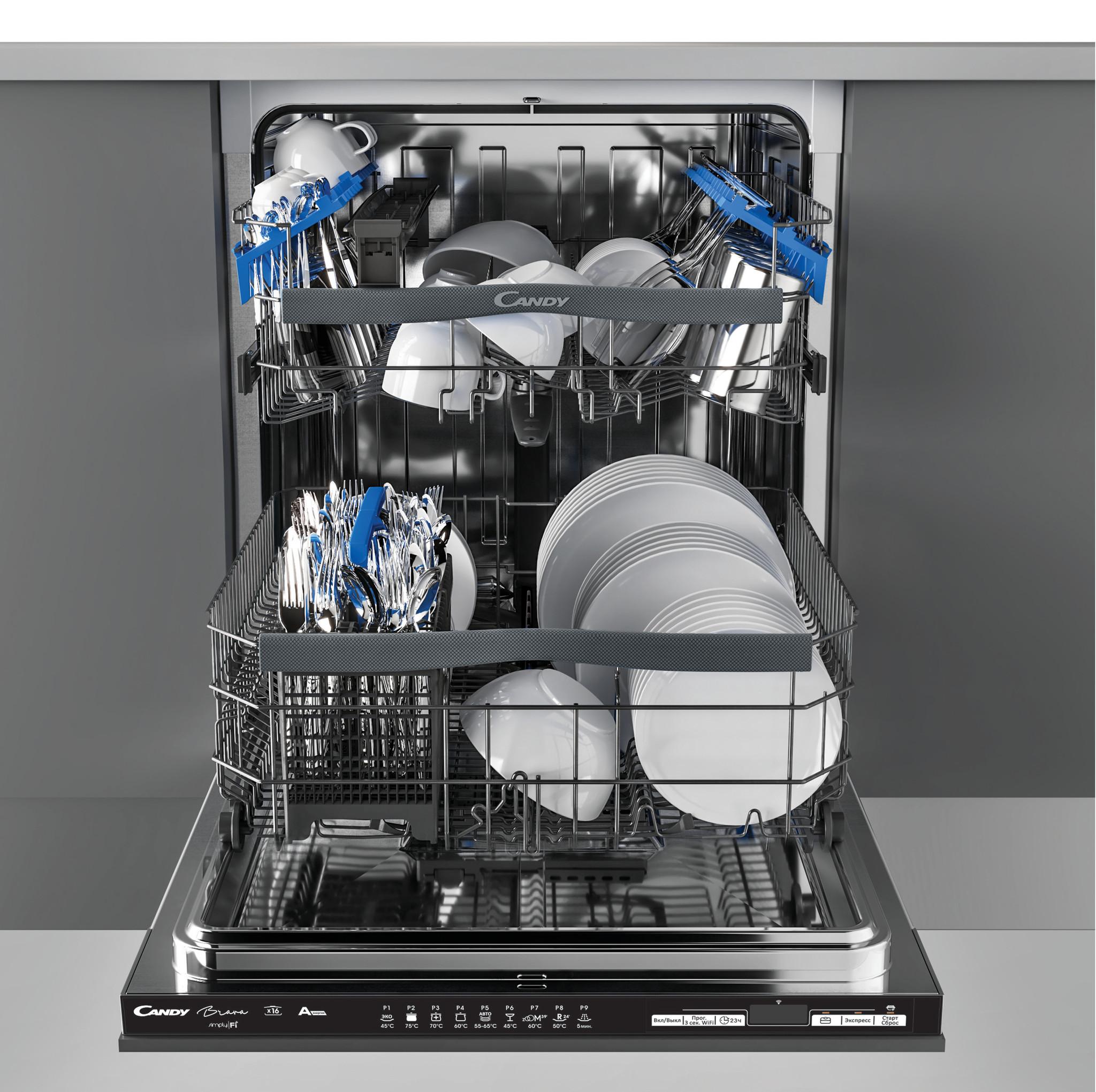 Посудомоечная машина Candy Brava CDIN 1D672PB-07 фото