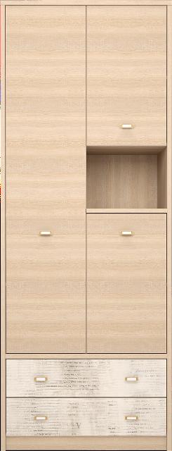 Шкаф комбинированный Ультра