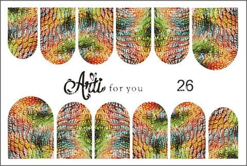 Слайдер Arti for You №26 РА