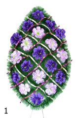 Венок украшенный цветами нарцисса