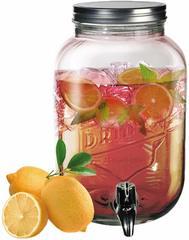 Лимонадник с винтовой крышкой, 3,5 л, фото 1