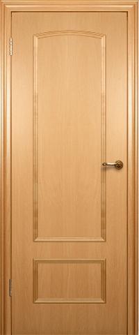 Дверь Краснодеревщик ДГ 201, цвет бук, глухая