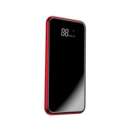 Портативное зарядное устройство Baseus full screen bracket wireless charge Power Bank 8000mAh red