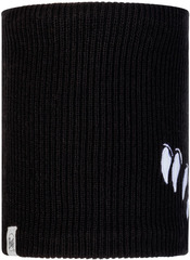 Вязаный шарф-труба с флисом Buff Neckwarmer Knitted Polar Funn Bat Black