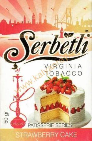 Serbetli Strawberry Cake