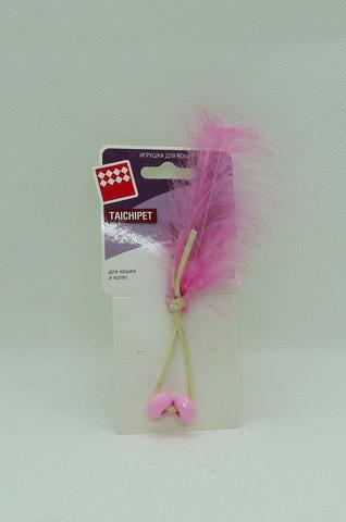 NEMS игрушка розовые бусинки с перьями