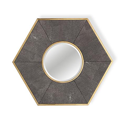 Зеркало дизайнерское Rhombus by Light Room (серый)