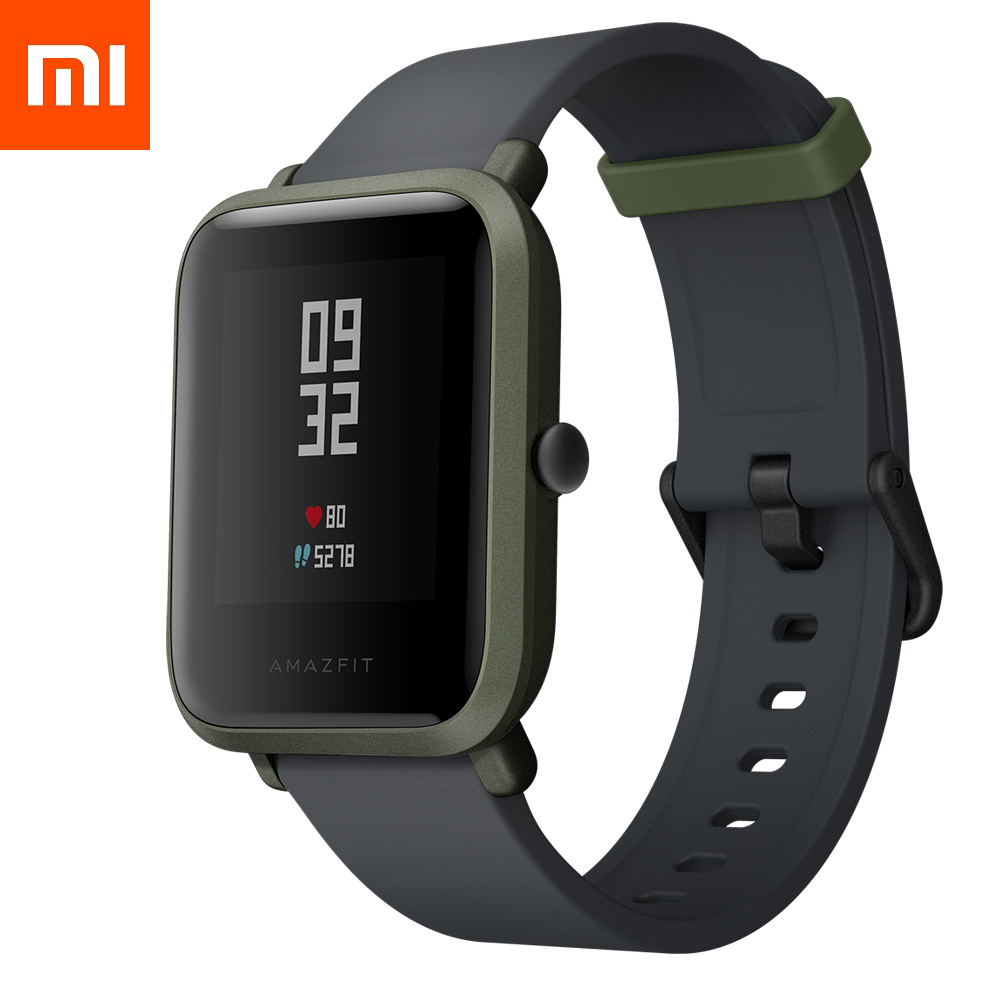 Смарт-часы Xiaomi Amazfit Bip Youth Smart Watch (Global version/зеленый)