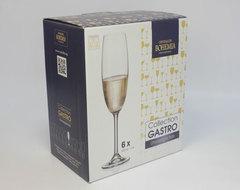 Набор из 6 цветных фужеров для шампанского Gastro Арлекино, 220 мл, фото 7