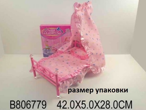 Кроватка В806779 (СБ)